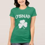 O'Snap Irish Shamrock Shirt