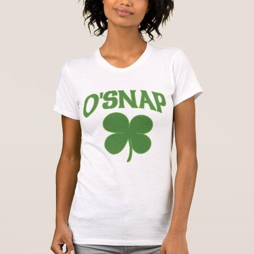 O'Snap irish Shamrock Tee Shirt
