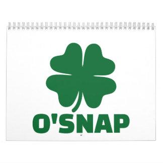 O'Snap shamrock Wall Calendars