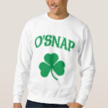 O'Snap Shamrock Pullover Sweatshirt