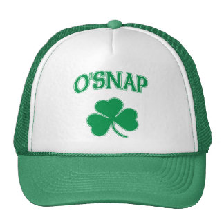 O'Snap Shamrock Trucker Hat