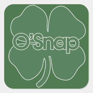O'Snap Square Sticker