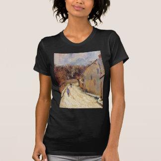 Osny, ruda de Pontoise, invierno de Paul Gauguin Playera