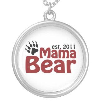 oso 2011 de la mamá collar plateado