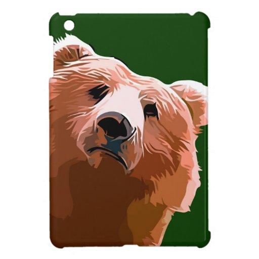 Oso amistoso iPad mini protector