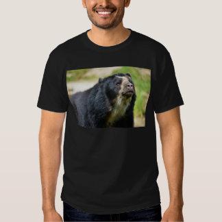 Oso andino del retrato camisas
