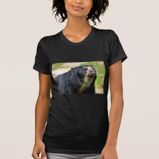 Oso andino del retrato camisetas