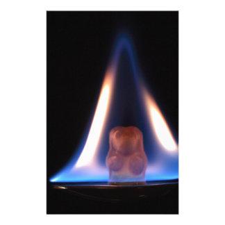 Oso ardiendo de Gummi Papelería Personalizada