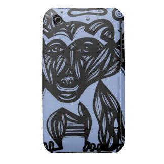 Oso, azul del oso polar Case-Mate iPhone 3 cobertura