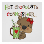 Oso caliente del chica de ChocolateConoisseur Impresiones