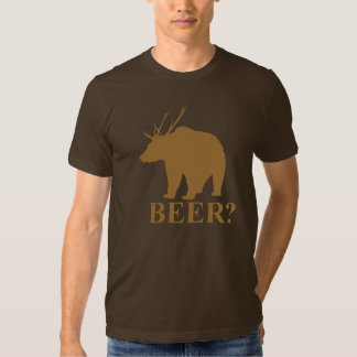 Oso + ¿Ciervos = cerveza?  camisa