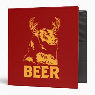 """Oso + Ciervos = cerveza Carpeta 1 1/2"""""""