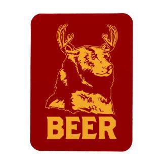 Oso + Ciervos cerveza Iman Flexible