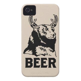 Oso + Ciervos = cerveza iPhone 4 Cobertura
