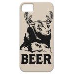 Oso + Ciervos = cerveza iPhone 5 Case-Mate Cárcasa