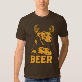 Oso + Ciervos = cerveza Playeras