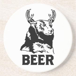 Oso + Ciervos = cerveza Posavaso Para Bebida