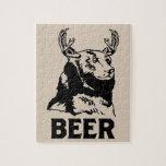 Oso + Ciervos = cerveza Rompecabeza