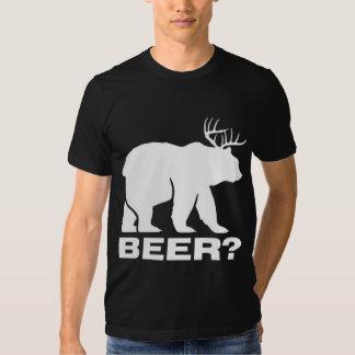 ¿Oso con la cerveza de los ciervos? Playera