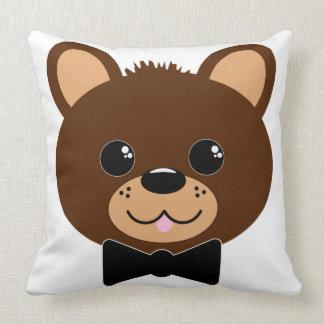 Oso con la pajarita almohada
