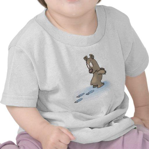 Oso confuso camiseta