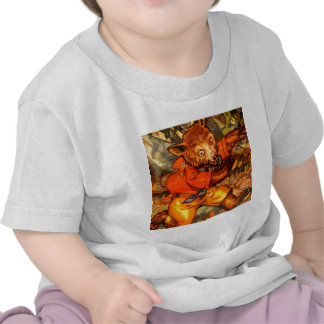 Oso corriente camisetas