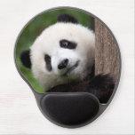 Oso Cub de panda Alfombrillas De Ratón Con Gel
