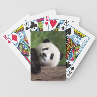 Oso Cub de panda Barajas De Cartas