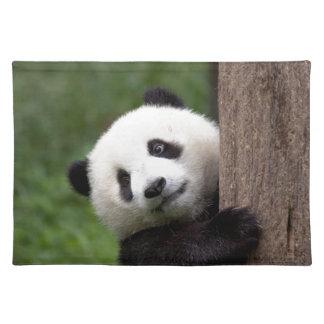 Oso Cub de panda Manteles