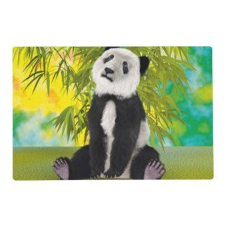 Oso Cub de panda Tapete Individual