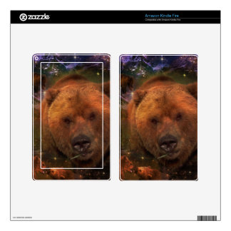 Oso de Alaska con Cubs Kindle Fire Skins