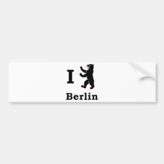 Oso de Berlín Pegatina Para Auto