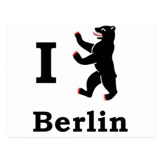 Oso de Berlín Tarjeta Postal
