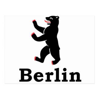 Oso de Berlín Postal