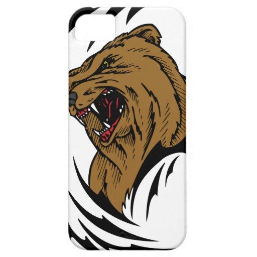 Oso de Brown iPhone 5 Case-Mate Cárcasa