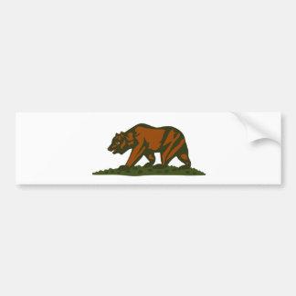 Oso de California Pegatina Para Auto