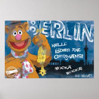 Oso de Fozzie - poster de Berlín, Alemania
