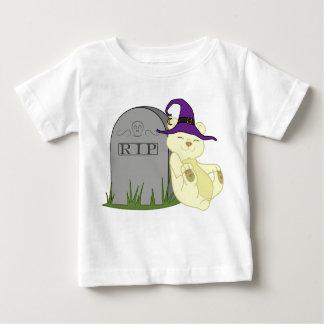 Oso de Halloween Kermode con la piedra grave Remeras