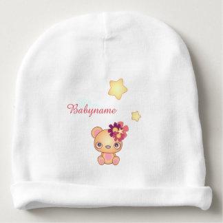 Oso de Kawaii personalizado Gorrito Para Bebe