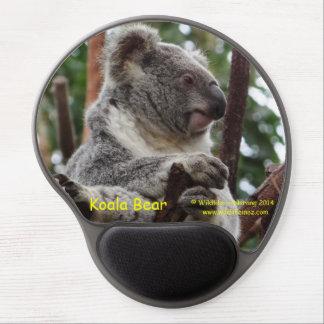 Oso de koala alfombrilla de raton con gel