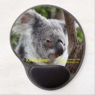 Oso de koala alfombrilla de ratón con gel