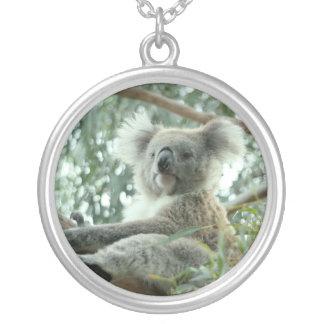 Oso de koala colgante redondo