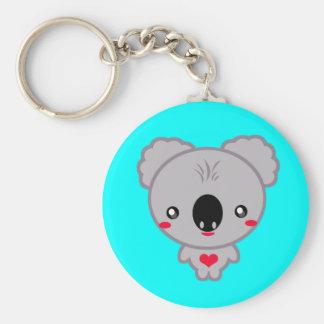 Oso de koala de Kawaii Llavero Personalizado