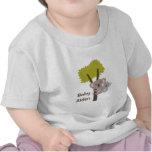 Oso de koala del bebé y mamá lindos para los bebés camiseta