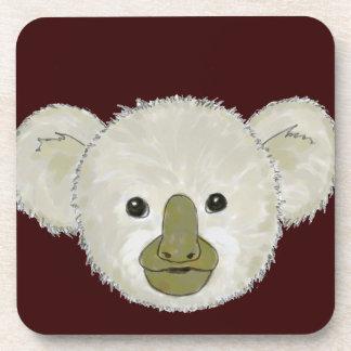 Oso de koala del cacao posavasos