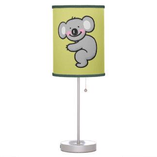 oso de koala del dibujo animado lámpara de escritorio