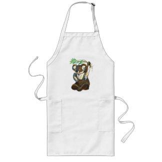 oso de koala delantal