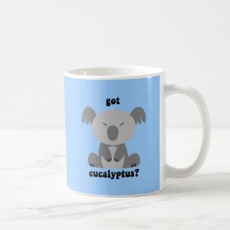 Oso de koala divertido taza clásica