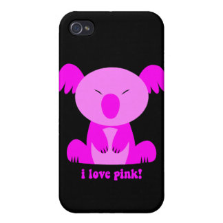 Oso de koala iPhone 4/4S fundas