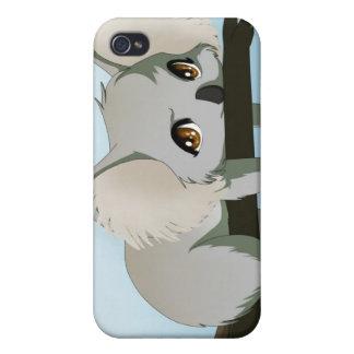 Oso de koala gruñón iPhone 4/4S carcasa